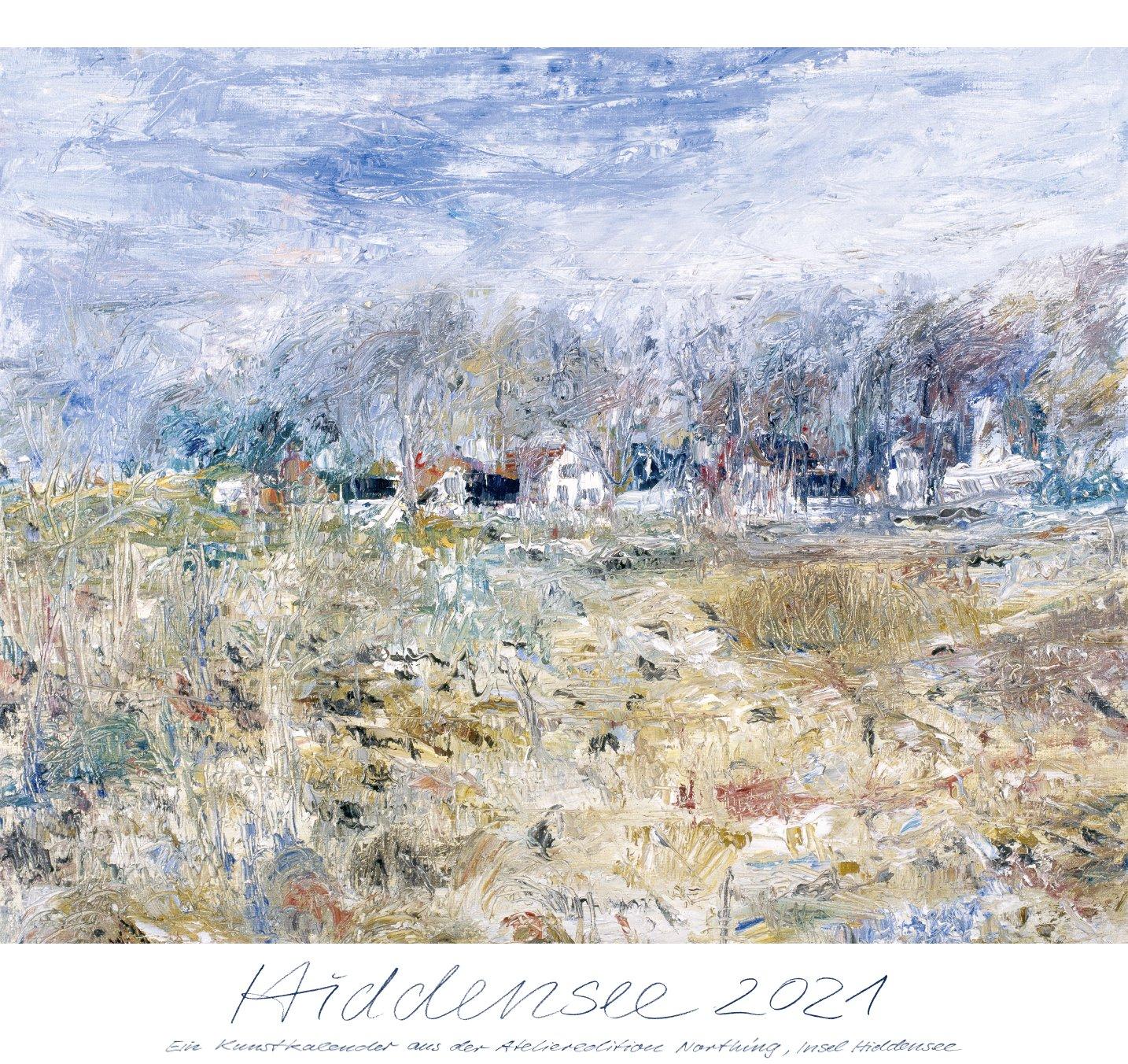 Der neue Hiddensee Kunstkalender 2021